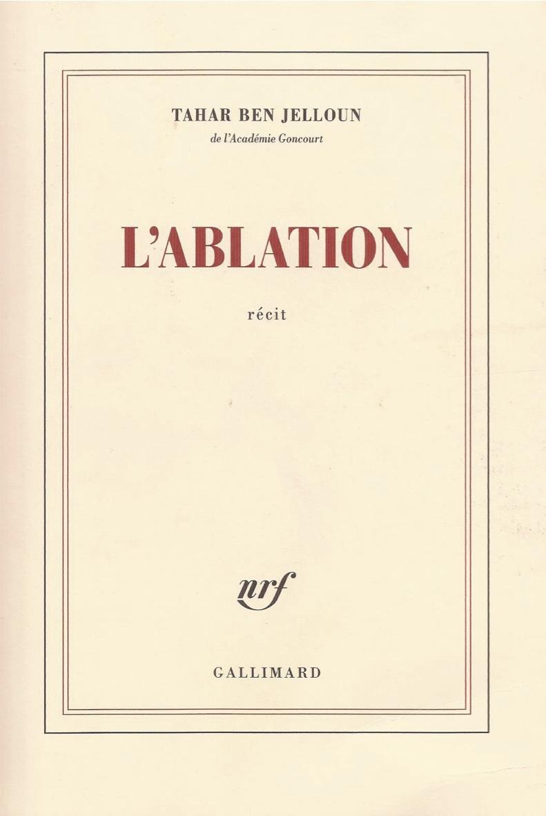 l'ablation - copie